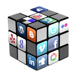 Social Media Rubic Cube