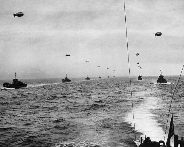 LCI Convoy - D-Day